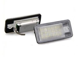 Set lampi numar led Audi Q7, A3, A4, A6, RS4, RS6, S6